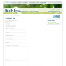 EcoEvents.com website view 3
