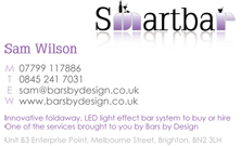 SmartBar Business Card
